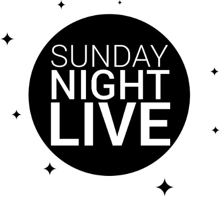 words 'Sunday Night Live'